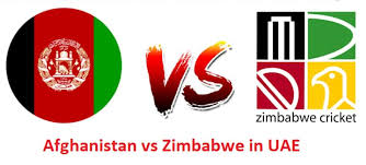Today Cricket Match Prediction of Afghanistan vs Zimbabwe 1st T20