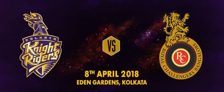 Who Will Win Today Kolkata Knight Riders vs Royal Challengers Bangalore 3rd T20 IPL 2018 Prediction