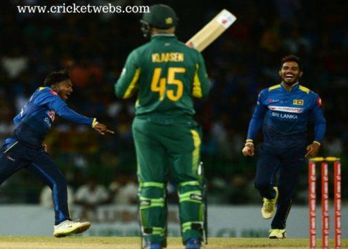 South Africa vs Sri Lanka Cricket Prediction