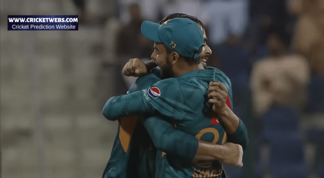 Pakistan Team Celebration