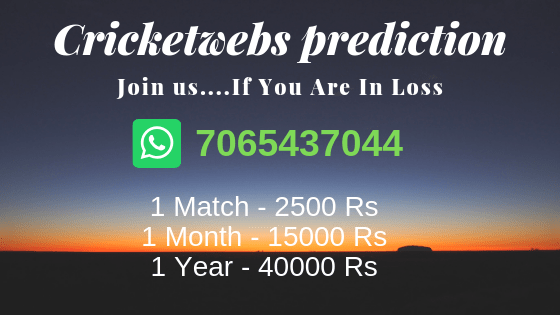 Cricketwebs Betting Tips, Cricketwebs Match Prediction
