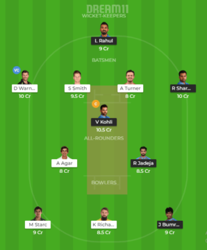 India vs Australia 2nd ODI Dream11 Prediction