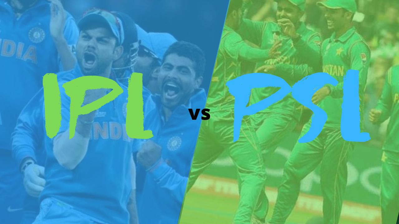 इंडियन प्रीमियर  लीग और पाकिस्तान सुपर लीग में कौन सी लीग बड़ी है ?