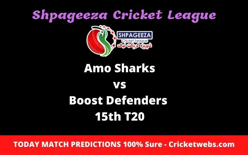 Who Will Win-Amo Sharks vs Boost Defenders-15th T20-SCL Prediction