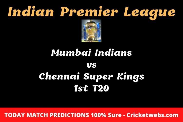 MI vs CSK Match Prediction