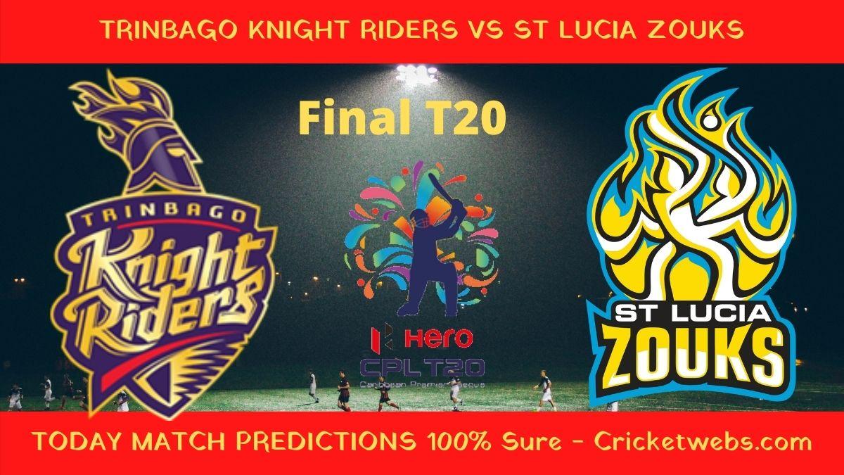 TKR vs STZ Final T20 Match Prediction